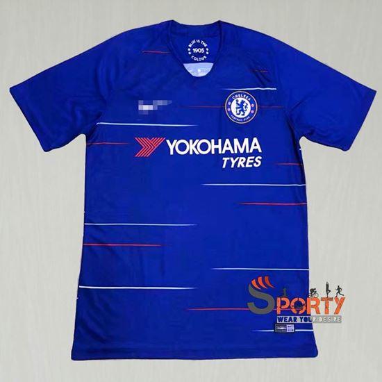 new arrival 1f3c0 6b370 Chelsea Fc home kit 2018/19 season