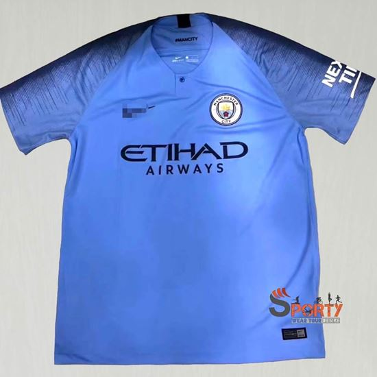 Picture of Manchester City 2018/19 home kit