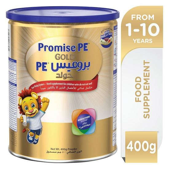 Picture of Wyeth PROMISE PE (Picky Eater) GOLD, Premium Milk Powder For Kids 400g