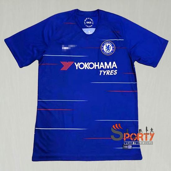 Picture of Chelsea Fc home kit 2018/19 season