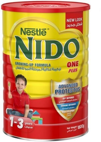 Picture of Nestle Nido One Plus Milk Powder with Protectus - 1800g