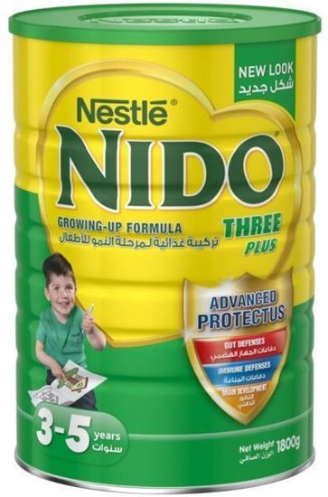 Picture of Nestle Nido Three Plus Milk Powder with Protectus - 1800g
